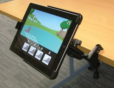 Držiak na iPad Air s príchytkou