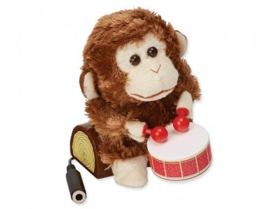 Bubnujúca opica